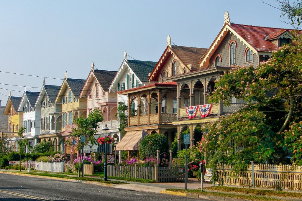 image of homes in cape new jersey